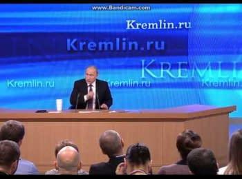 "Путин: ""Янукович не применил силу против Евромайдана, результат - переворот"""