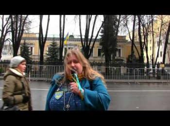 Happy New Year, Ukraine! Moscow, 2014/2015