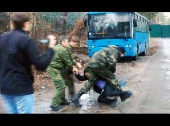 Люди Ахметова побили журналистов под Киевом