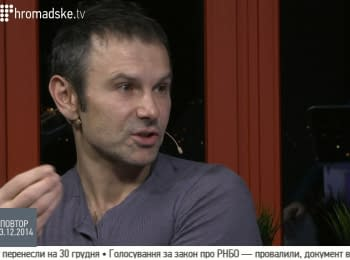 Vakarchuk: We don't need to wait for miracle until we do that miracle for ourself