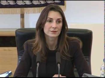 Катерина Згуладзе: нам потрібна поліція, яка буде служити народу, 25.12.2014