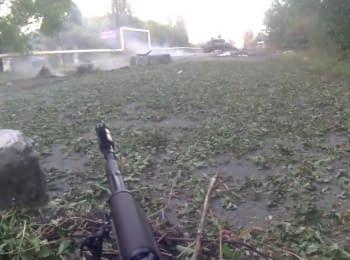 Боевики ДНР штурмуют блокпост сил АТО