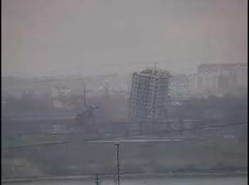 Знос 16-поверхівки в Севастополі