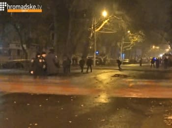 Explosion in Odessa: one person killed, 27.12.2014