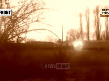Terrorists published a video of their bomb attack on a train near Odessa