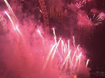 Новий рік 2015 в Лондоні