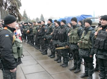Soldiers of the National Guard of Ukraine returned to Kremenchug