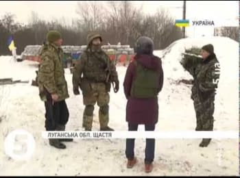 How partisans of Lugansk helping ATO soldiers