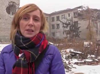 Міжнародний Червоний Хрест допомагає відновлювати будинки на сході України
