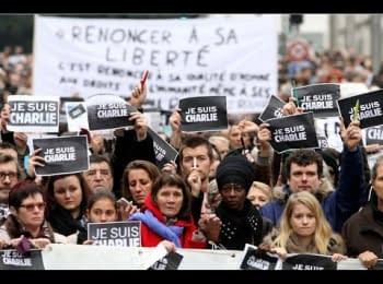 Марш Єдності у Парижі