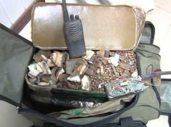 СБУ вилучила арсенал зброї терористів на Донеччині