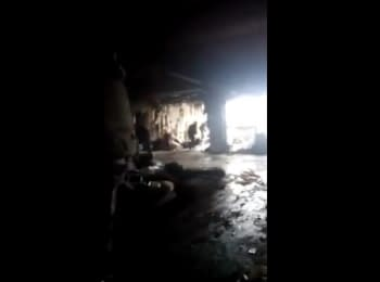 "Donetsk airport. Video of ""cyborg"" Dmitry Marchenko, 13.01.15"