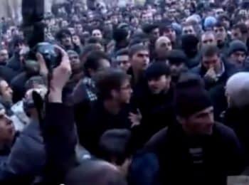 Протести у Вірменії. Пряма трансляція Радіо Свобода