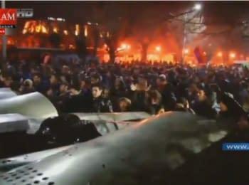Протести у Вірменії. Пряма трансляція ARAJIN