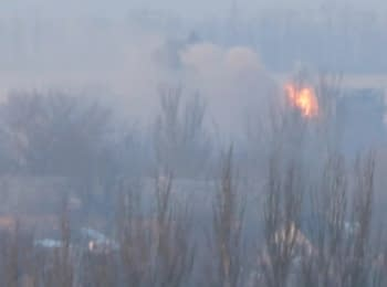 Shelling of the Donetsk airport. Day Three