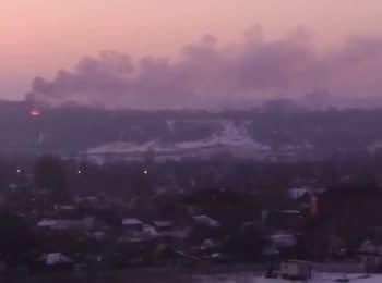 Battle in Gorlovka, 17.01.15