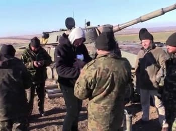 """Lastivky"" (ukrainian ""Swallows"") and the artillery"