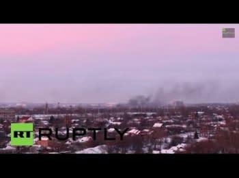 Донецьк. Північно-західна частина (вигляд на вулицю Артема та Київський район)