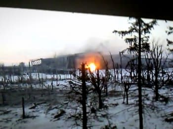 Donetsk airport, militants storming the new terminal
