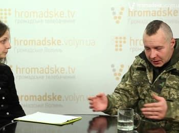"""Cyborg"" from Volyn about the war for life at the Donetsk airport"