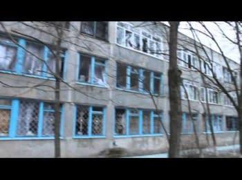 """Наслідки обстрілу Маріуполя, відео батальйону """"Азов"""", 24.01 2015 (18+)"""