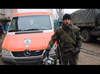 """Ротный полка """"Азов"""" о ситуации в Мариуполе, 24.01.2015"""