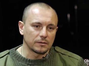 Украинец, живущий в Англии, приехал на родину чтобы поделиться своим военным опытом