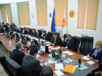 Выездное заседание правительства в ГСЧС Украины