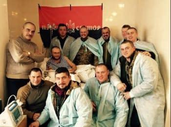 Дмитрий Ярош о ранении и последних событиях на фронте