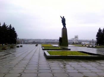 Спроба демонтажу пам'ятника Леніну у Запоріжжі