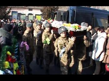 Бердичев попрощался с двумя бойцами, которые погибли в АТО