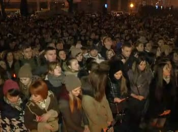 Мітинг-реквієм за Кузьмою Скрябіним. Львів
