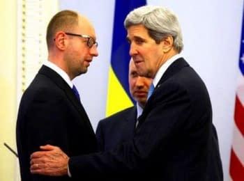 Брифінг Прем'єр-міністра України та Держсекретаря США