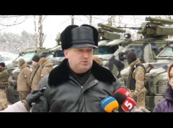 New military equipment was transferred to the Armed Forces and the National Guard - Turchynov