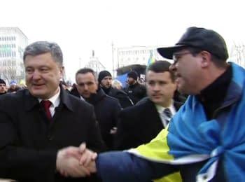 Poroshenko met with Ukrainian diaspora in Munich