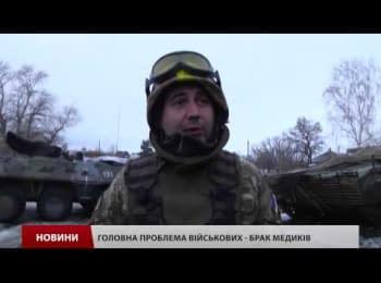 Волонтери відвідали військових 17-ї танкової бригади