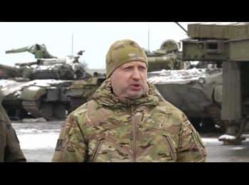 """Турчинов о наступлении """"Азова"""" и ситуации вокруг Мариуполя"""