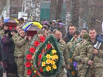 Farewell to four fallen soldiers in Zhytomyr