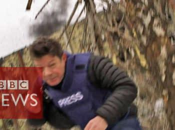 BBC: Fleeing artillery fire during ceasefire