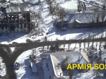 """""""Army SOS"""": War for Debaltseve. View from the sky"""