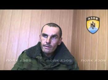Пленный танкист ДНР рассказывает про обучение в России и бой в Широкино