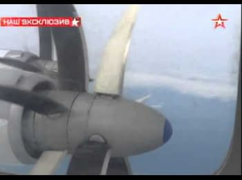 NATO aircrafts intercepted a russian missile carrier, 18.02.2015