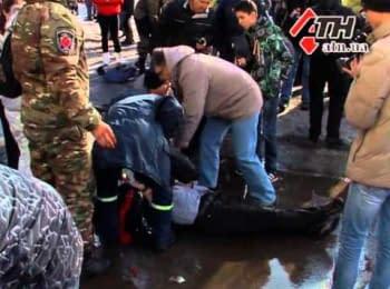 Харьков, теракт возле Дворца спорта на улице маршала Жукова, 22.02.15
