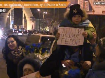 """Poroshenko set us up"" - militaries returned to the capital from Debaltseve"