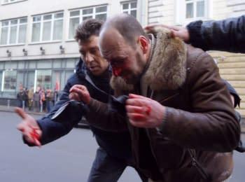 Стрілянина під час маршу Антимайдану в Москві, 21.02.2015