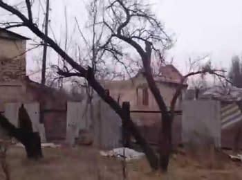 Debaltseve after attacks by militants