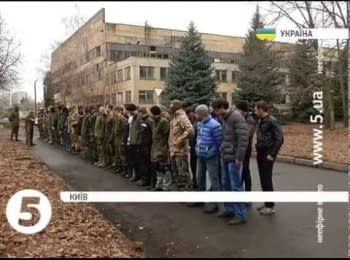"""Sunday training of civilians on base of regiment """"Azov"""""""