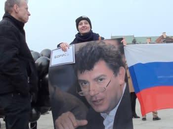 В Варшаве почтили память Бориса Немцова