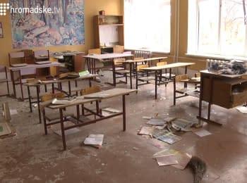 У Луганській області бойовики обстріляли загальноосвітню школу