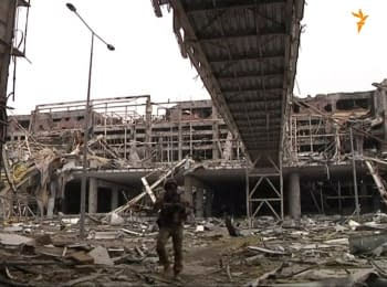 In the Donetsk airport are still remain bodies of deceased soldiers
